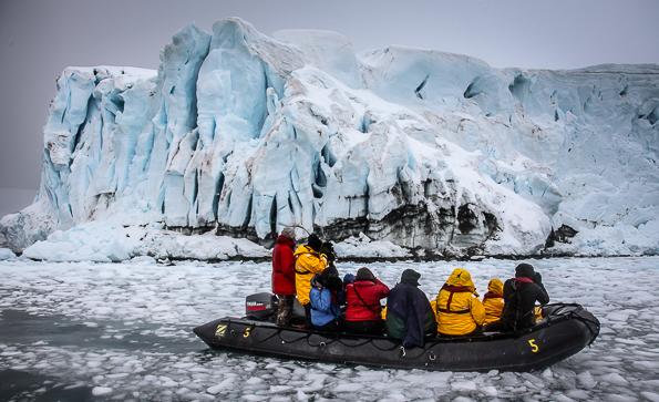 Antartica Zodiac Shooting