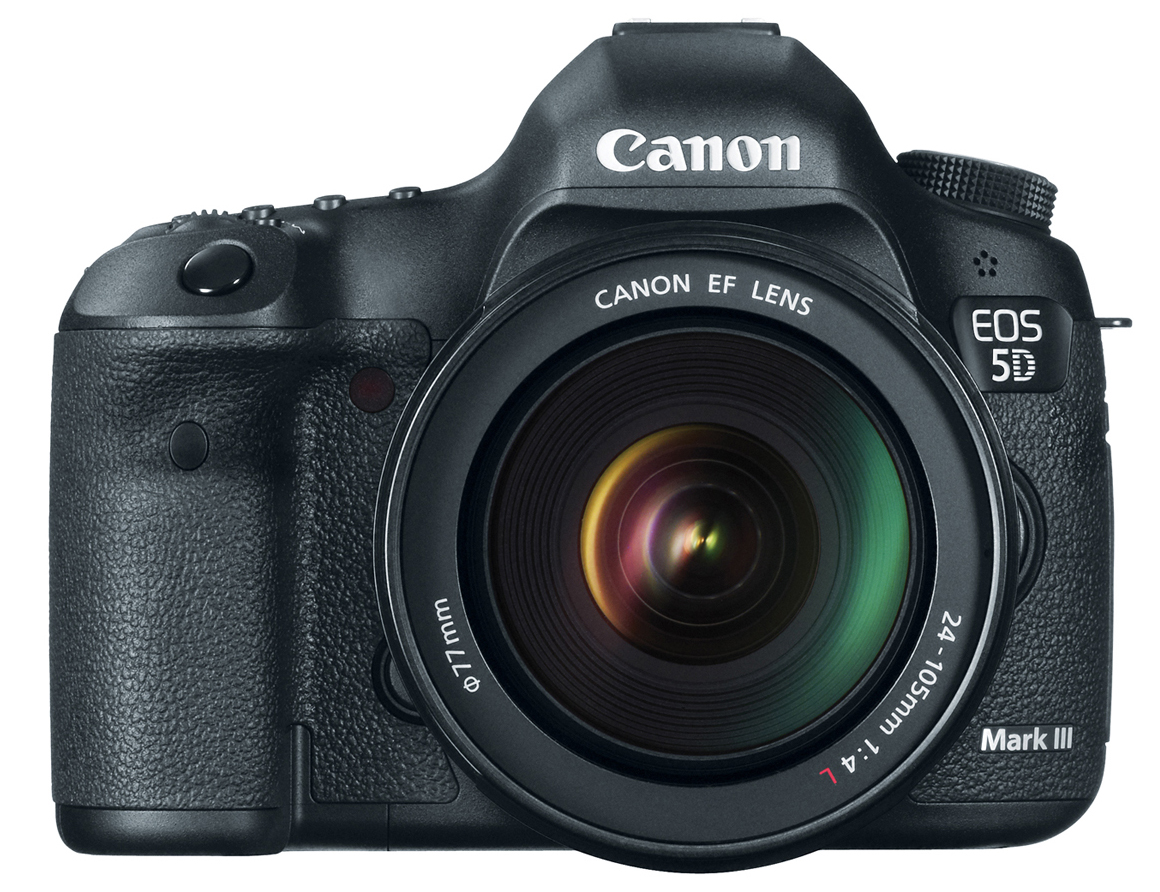 The Canon EOS 5D Mark III