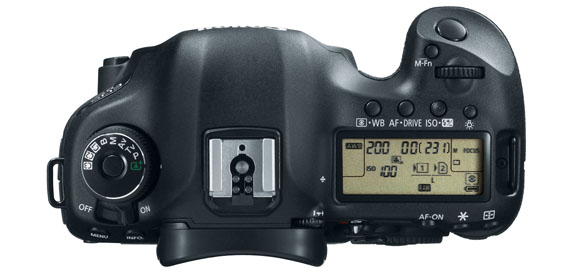 EOS 5D Mark III top