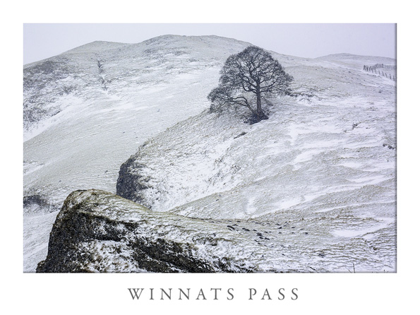 Winnats Pass, Castleton, Derbyshire