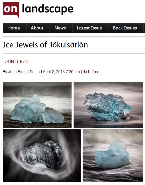 Ice Jewels of Jökulsárlón