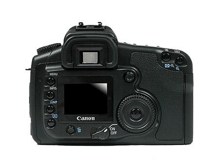 Canon EOS 20D Rear