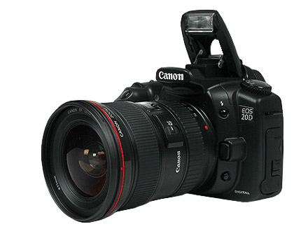Canon EOS 20D DSLR Camera