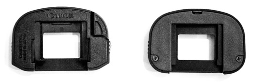 Eyepiece covers for 5D Mark-III
