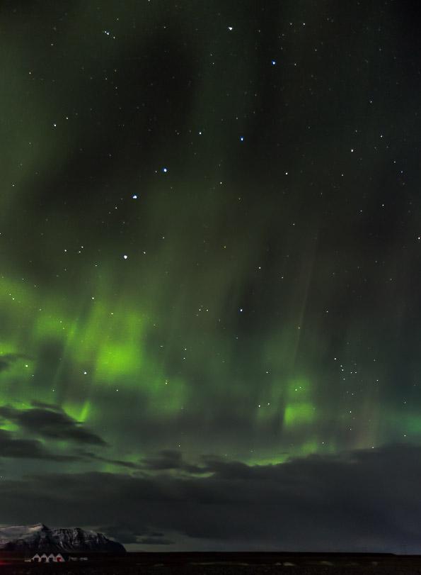 Big dipper aurora