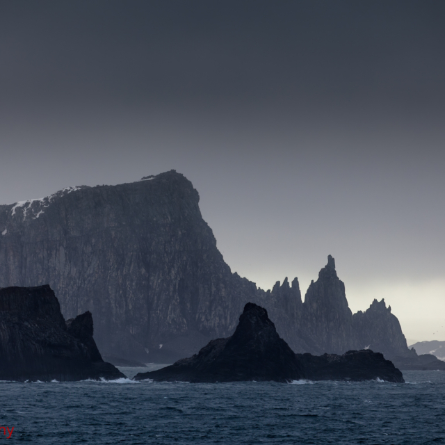 First Sight of South Shetland Islands