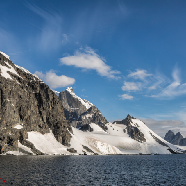 The Journey Home, leaving Cuverville Island