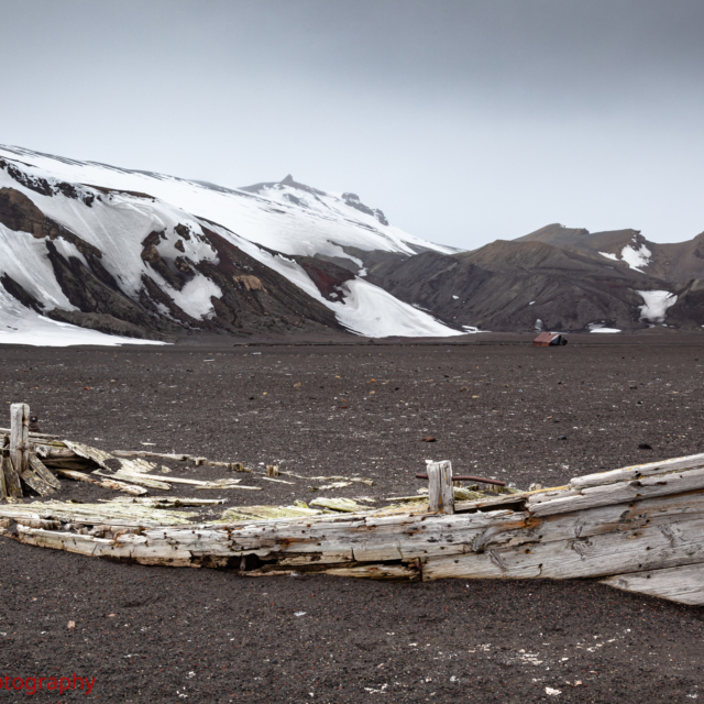 Whaling Boat Remains · Deception Island