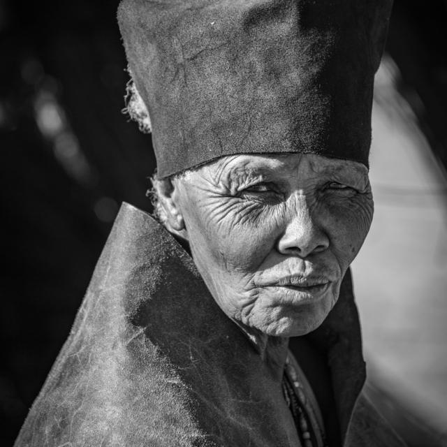 Kalahari Bushwoman