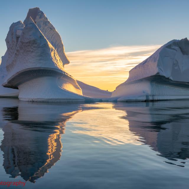 Sculpture Iceberg ・ Pléneau Bay