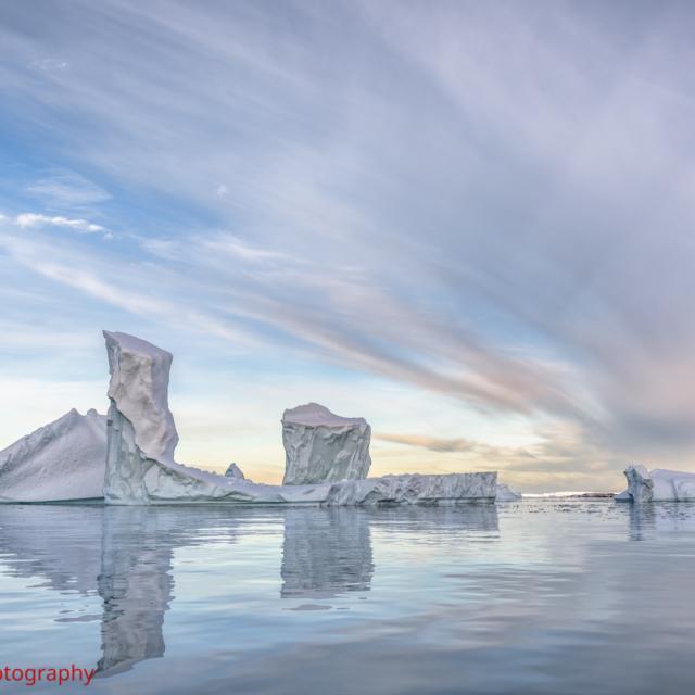 The Ice Towers of Pléneau Bay