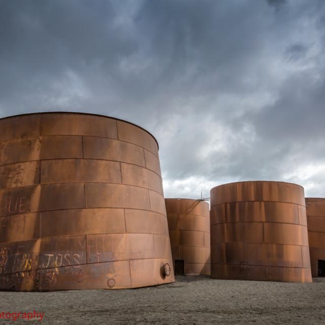 Whaler's Abandoned Oil Tanks