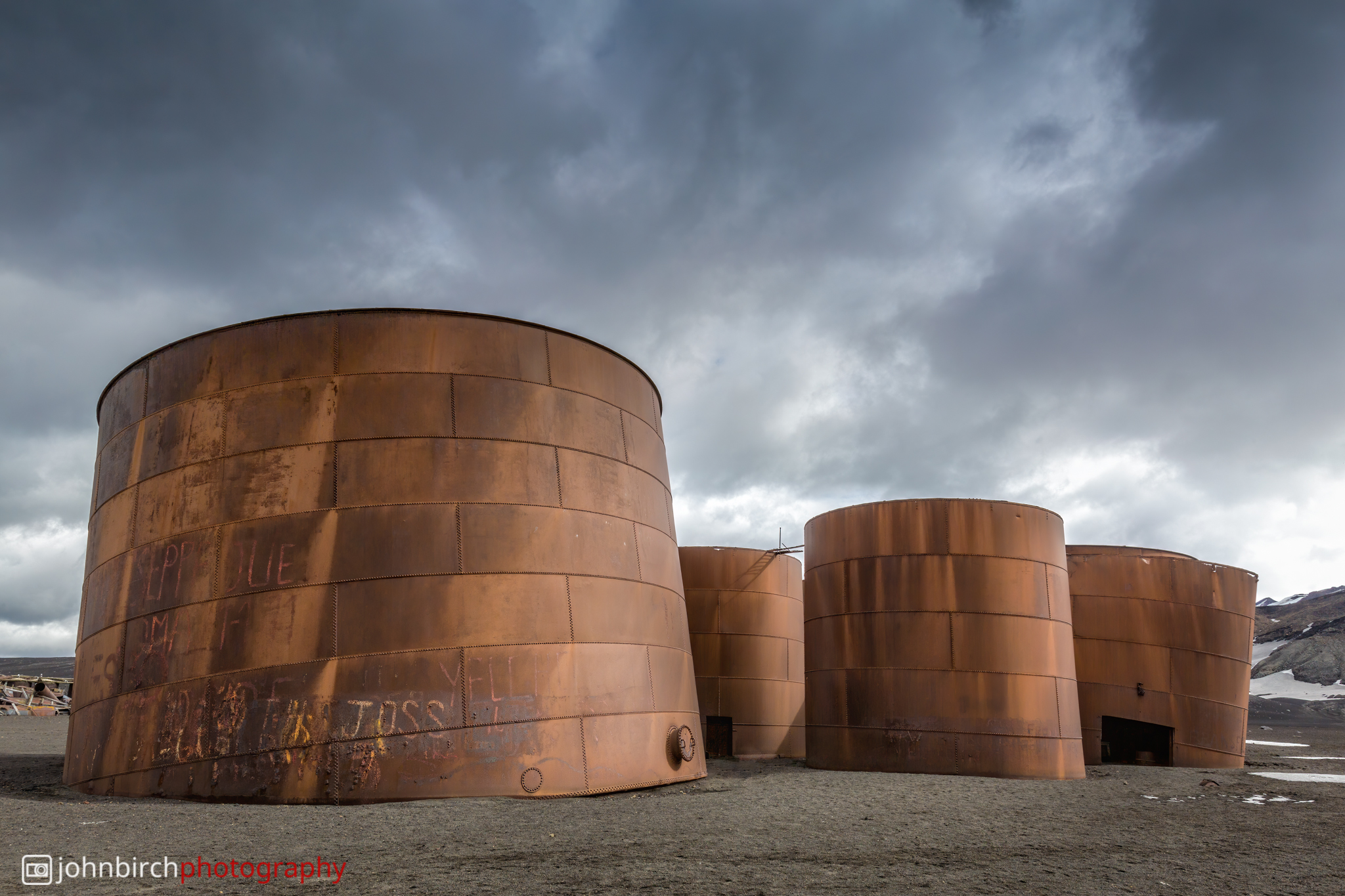 Whaler's Abandoned Oil Tanks