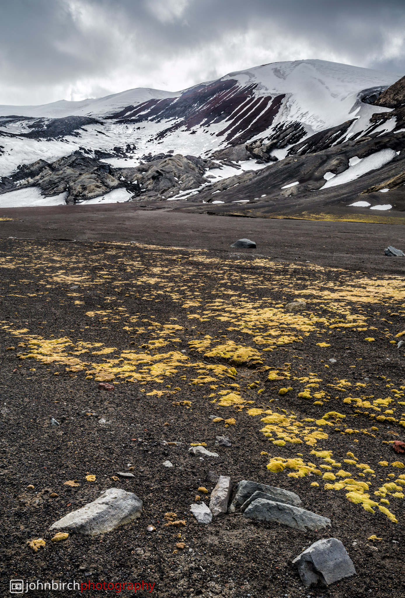 Deception Island Landscape