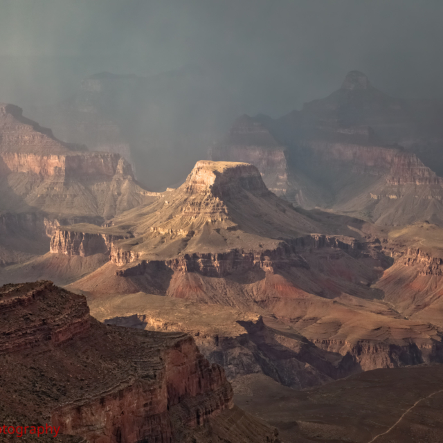 Afternoon Storm over the Canyon
