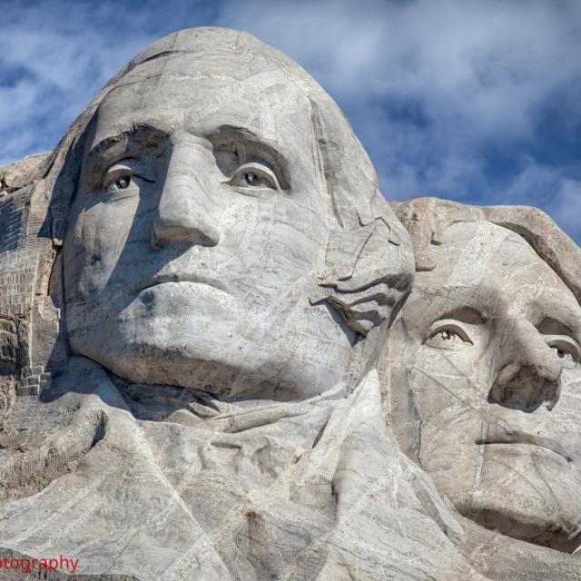Washington and Jefferson · Mount Rushmore