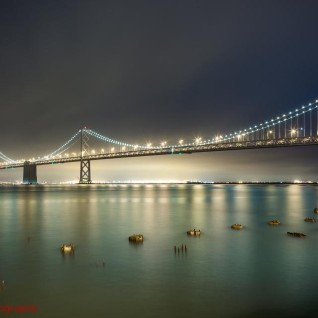 High Tide at the Bay Bridge, San Francisco